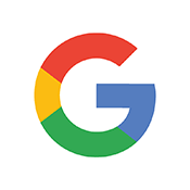 Circular Icon with Google logo